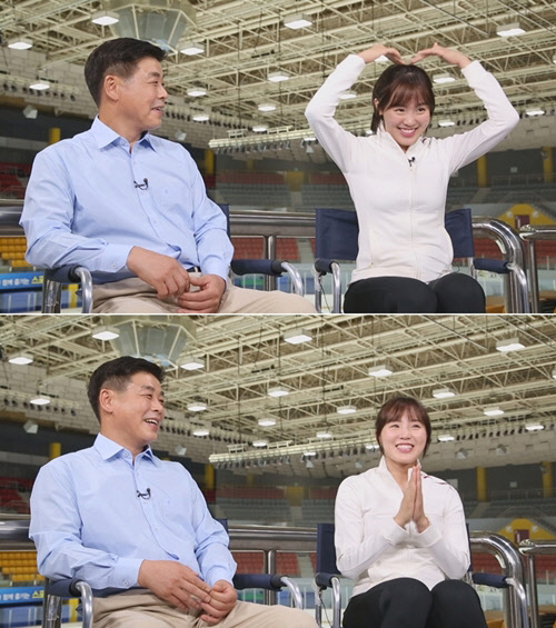 """`미소천사` 김아랑  """"금메달 포상, 아버지께 새 차 사드려"""""""